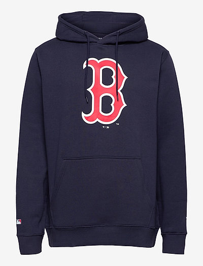 Boston Red Sox Mid Essentials Crest Graphic Hoodie - pulls a capuche - navy