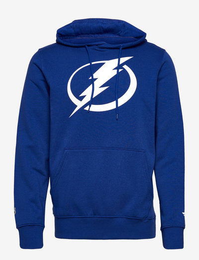 Tampa Bay Lightning Mid Essentials Crest Graphic Hoodie - pulls a capuche - royal