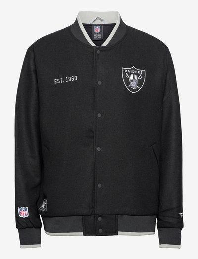 Las Vegas Raiders Letterman Team Jacket - veste sport - black