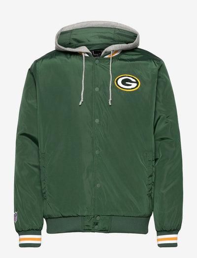 Green Bay Packers Sateen Jacket - veste sport - dark green