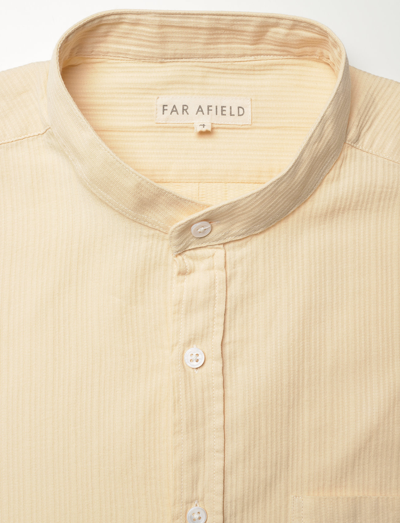 Far Afield - Twombly L/S Shirt - Textured Stripe - koszule lniane - lw - 2