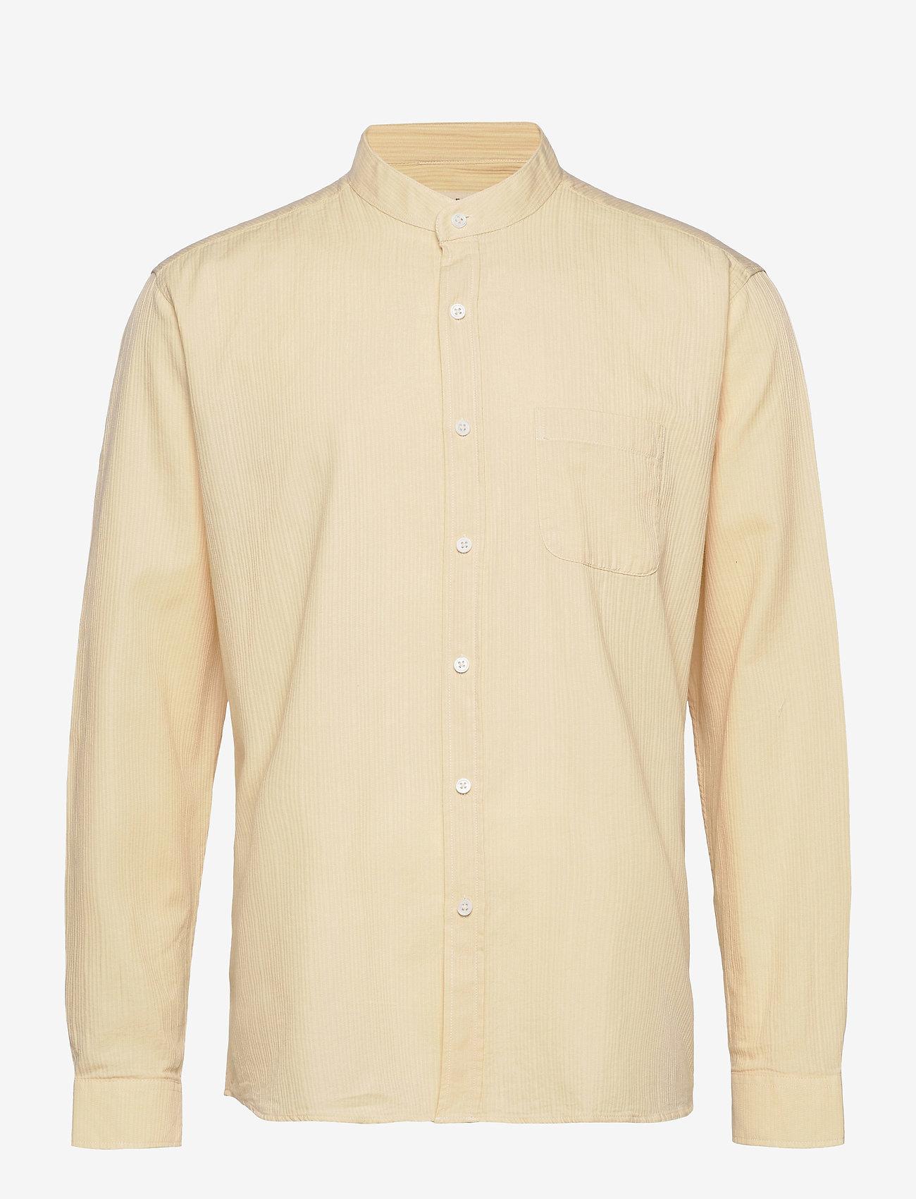 Far Afield - Twombly L/S Shirt - Textured Stripe - chemises à carreaux - lw - 0