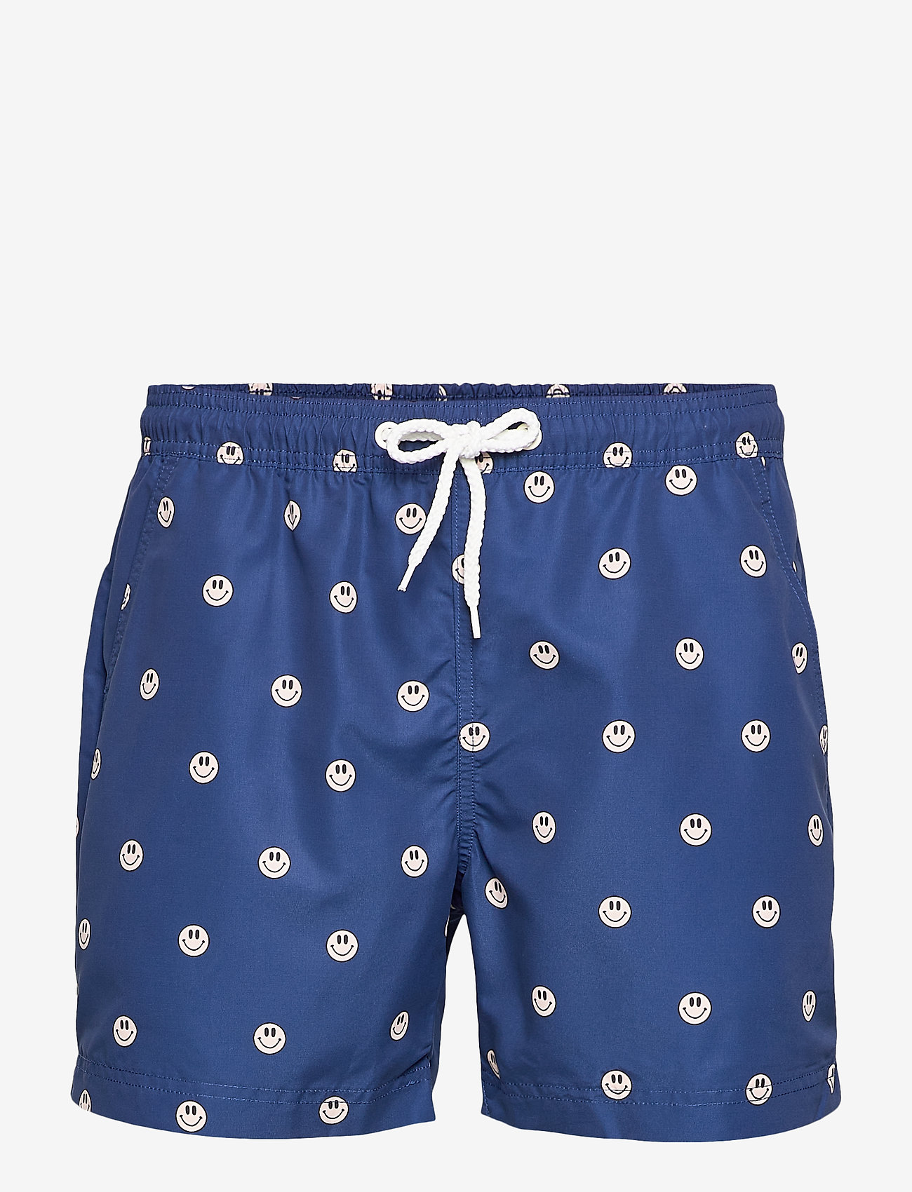 Far Afield - Printed Swimshorts (Recycled Plastic - Acid Smiles) - shorts de bain - navy - 0