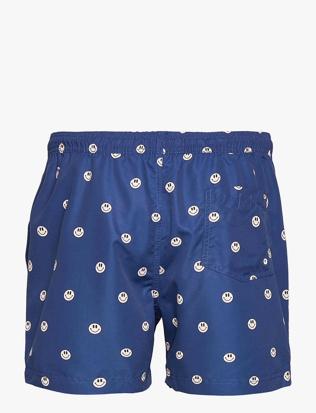 Far Afield - Printed Swimshorts (Recycled Plastic - Acid Smiles) - shorts de bain - navy - 1