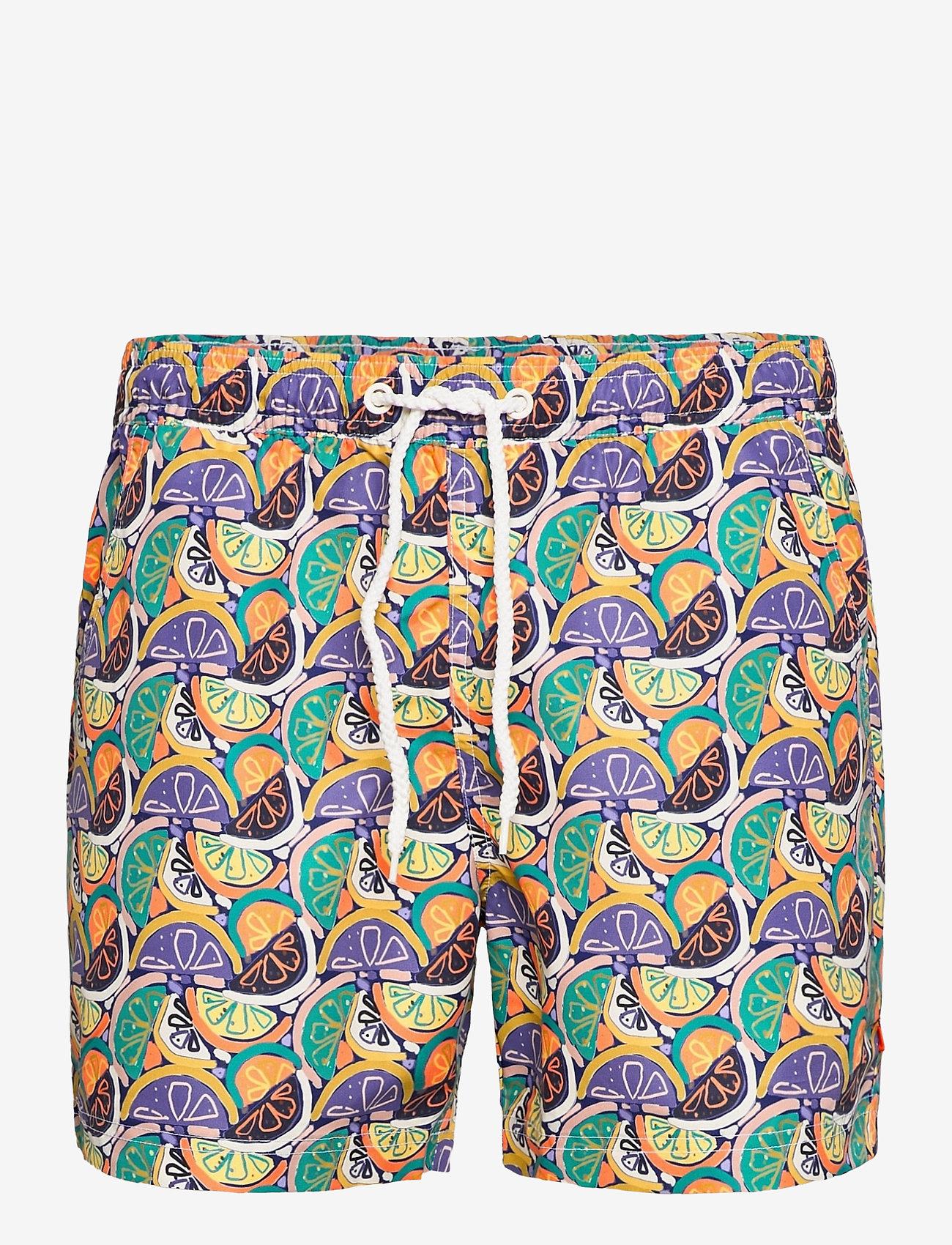 Far Afield - Printed Swimshorts (Recycled Plastic - Fruity) - shorts de bain - multi - 0