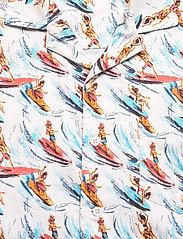 Far Afield - Stachio S/S Shirt (Slipstream) - geruite overhemden - white / multi - 2