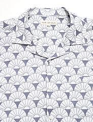 Far Afield - Selleck S/S Shirt (Sunrise) - chemises à carreaux - blue - 3