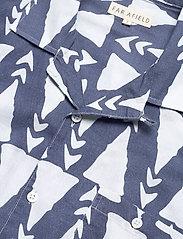 Far Afield - Selleck S/S Shirt (Trails) - chemises à carreaux - blue - 3