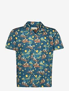 Stachio S/S Shirt (Surf Story) - chemises à carreaux - blue