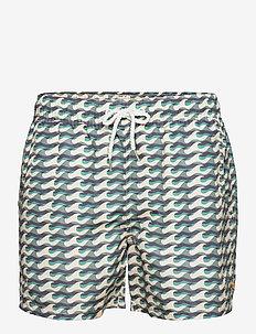 Printed Swimshorts (Wavista) - shorts de bain - navy