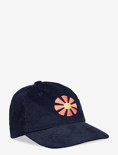 Carlos Cap - Sunbeam Embriodery (Cord) - bonnets & casquettes - navy