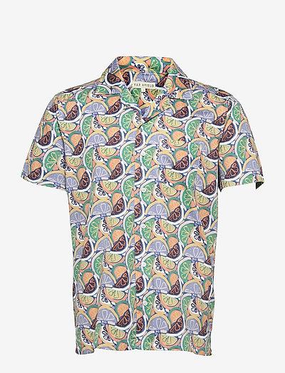 Stachio S/S Shirt (Juicy) - geruite overhemden - multi