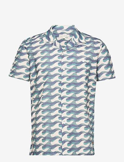 Selleck S/S Shirt (Wavista) - karierte hemden - blue