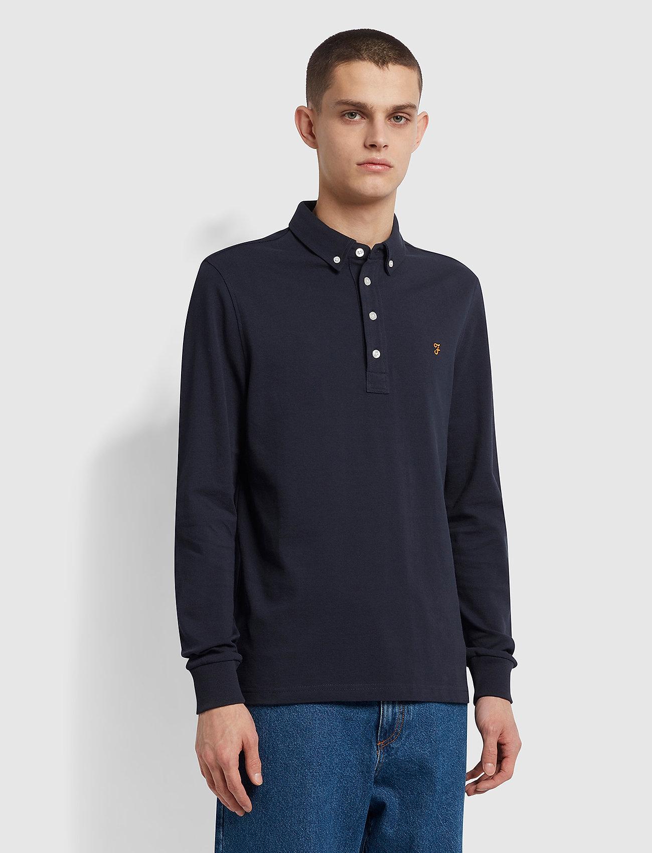 Ricky Long Sleeved Polo Shirt (True ...