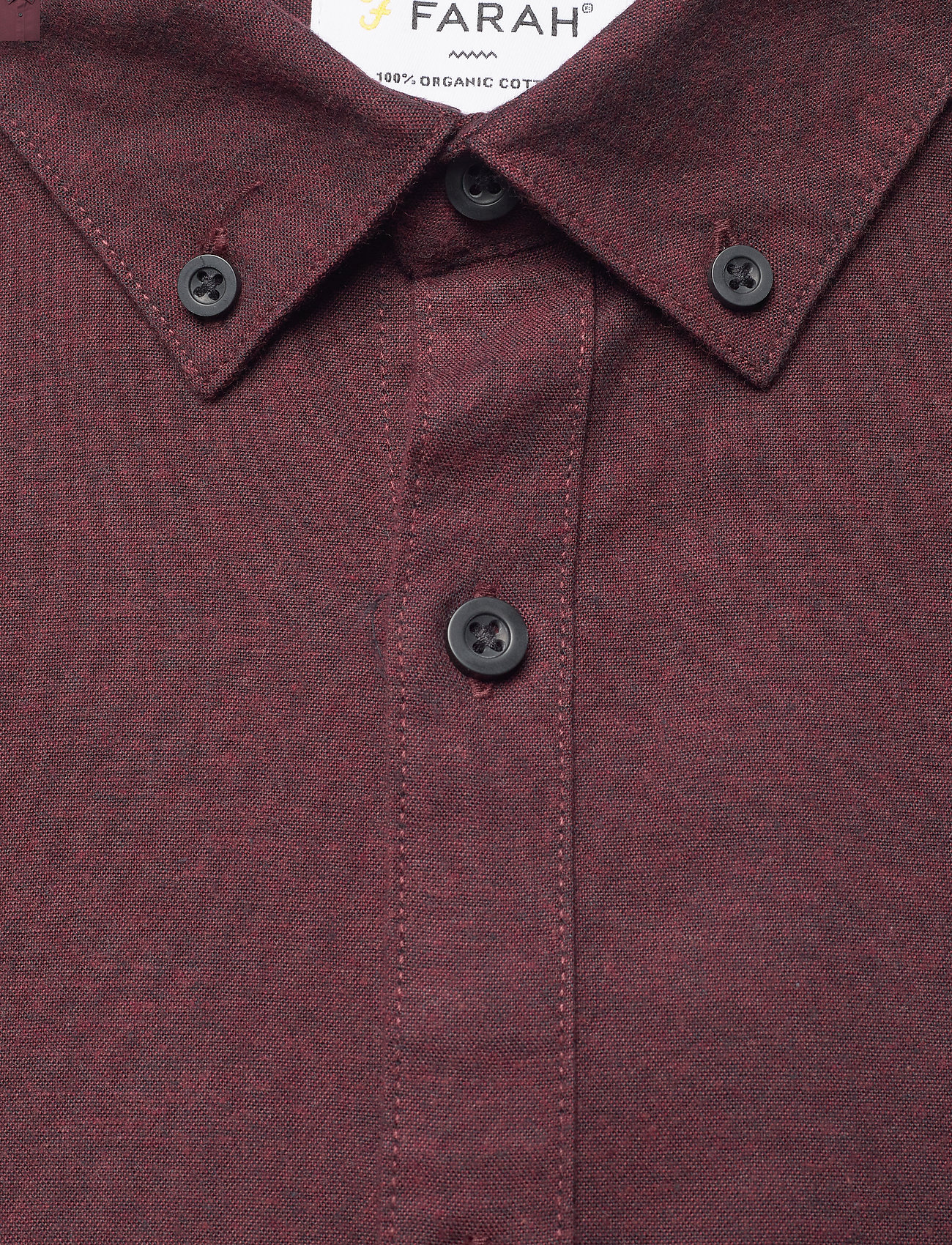 Farah - STEEN SLIM FIT SHIRT - linnen overhemden - farah red - 2