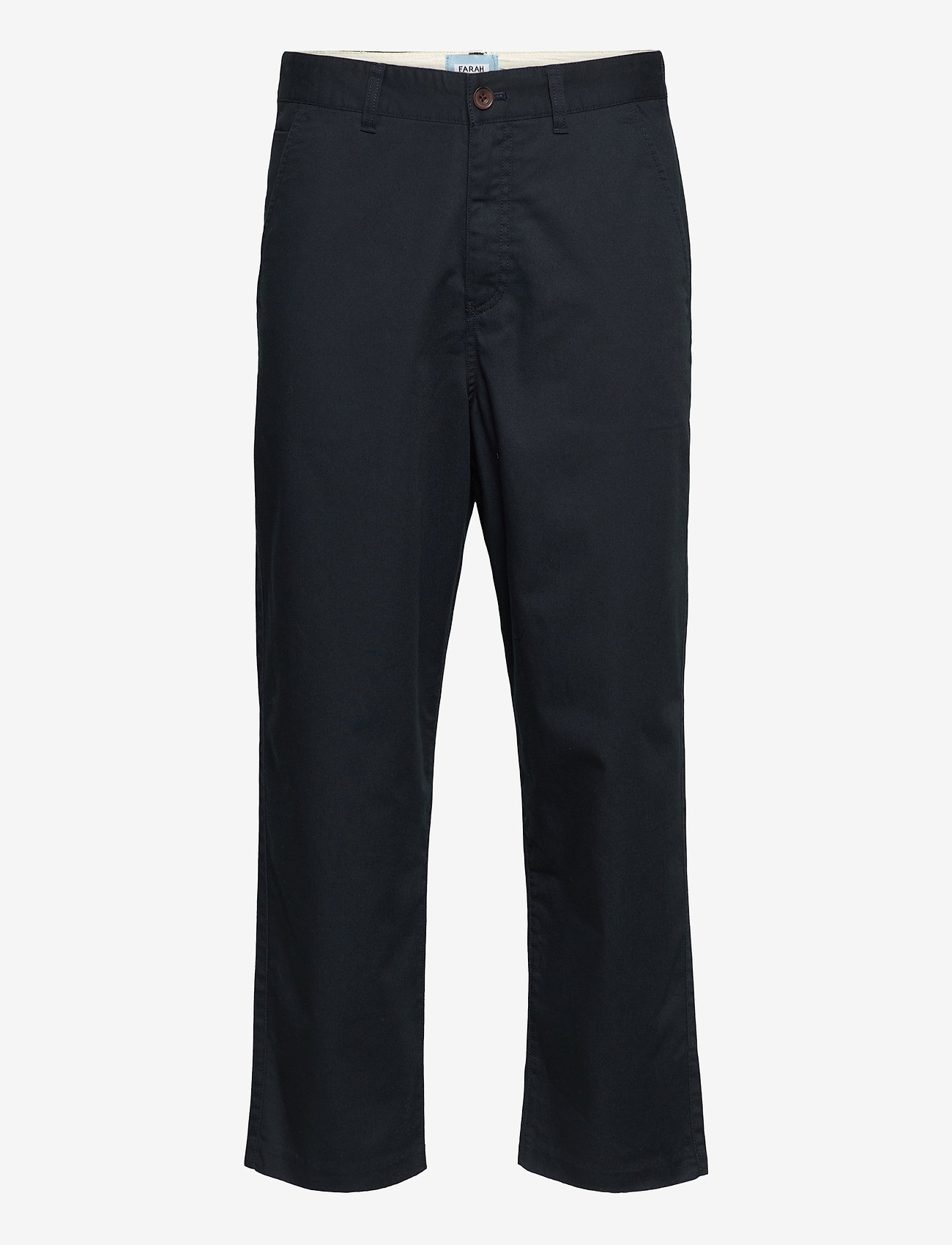 Farah - HAWTIN TWILL TROUSERS - pantalons décontractés - true navy - 0