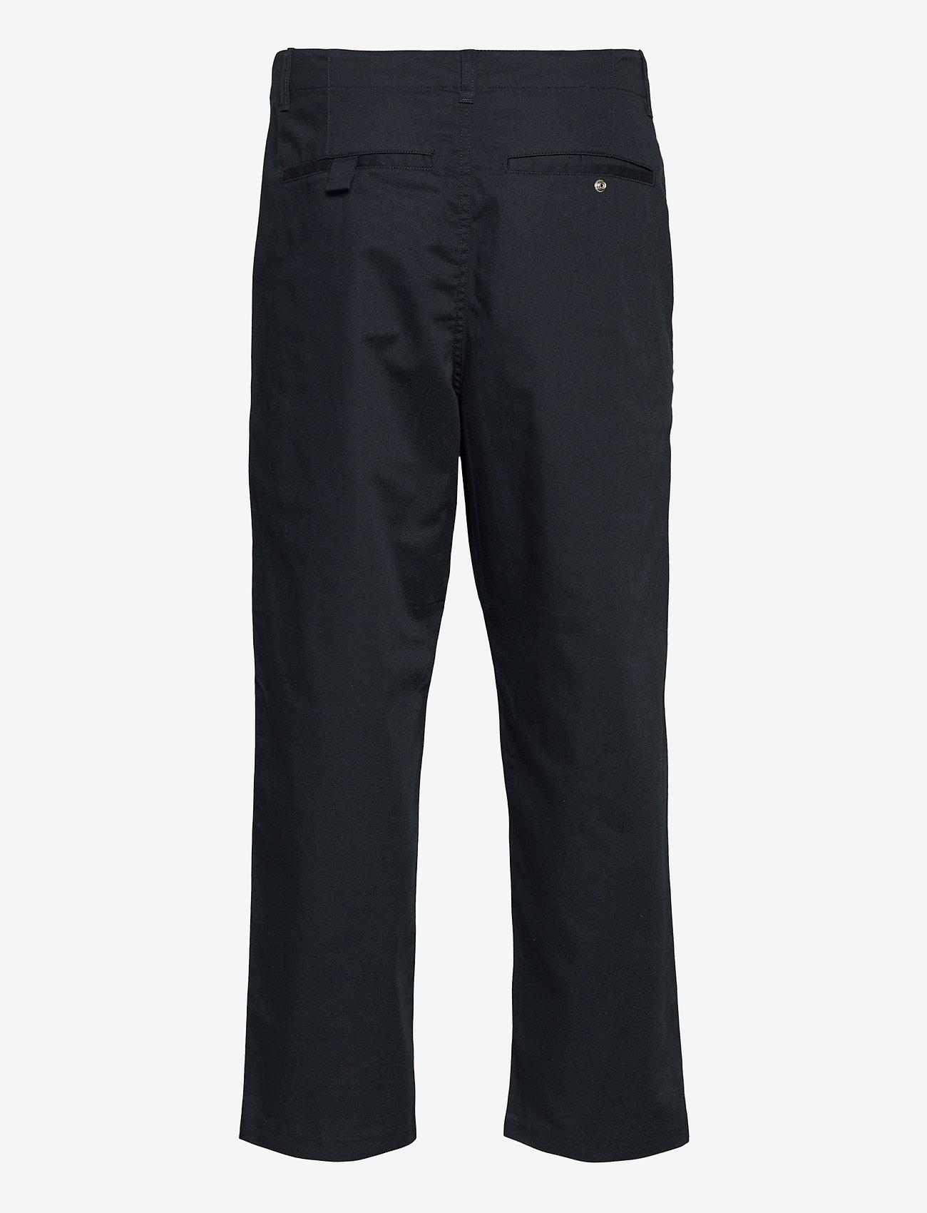 Farah - HAWTIN TWILL TROUSERS - pantalons décontractés - true navy - 1