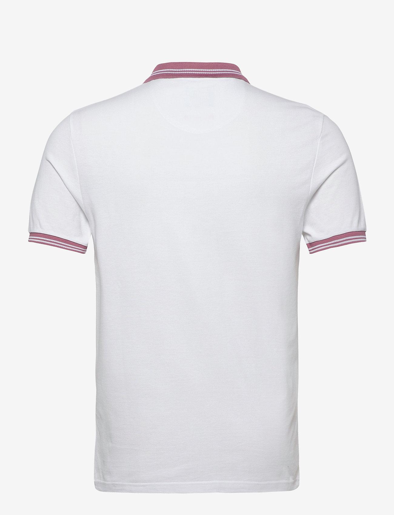 Farah STANTON POLO - Poloskjorter WHITE - Menn Klær