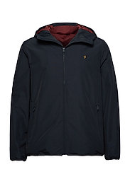 STRODE HOODED COAT - TRUE NAVY