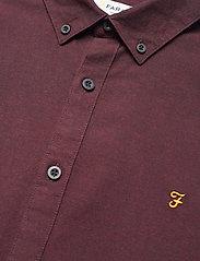 Farah - STEEN SLIM FIT SHIRT - linnen overhemden - farah red - 3