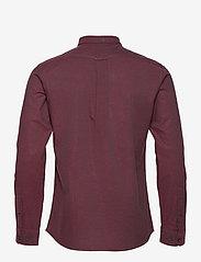 Farah - STEEN SLIM FIT SHIRT - linnen overhemden - farah red - 1