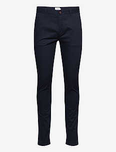 DRAKE TWILL SLIM FIT CHINO - chinos - true navy