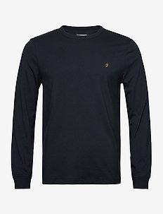 WORTH LS TEE - perus t-paidat - true navy