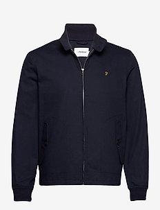 HARDY HARRINGTON JACKET - light jackets - true navy