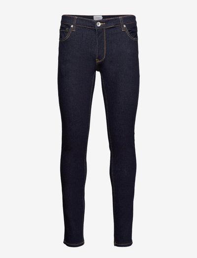 DRAKE STRETCH SKINNY FIT DENIM - skinny jeans - rinse denim