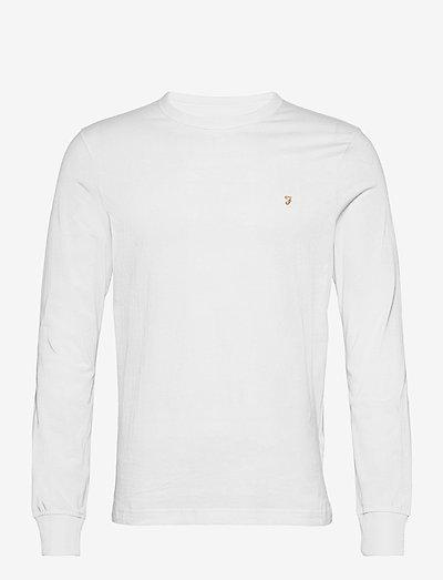 WORTHINGTON LONG SLEEVE T-SHIRT - basic t-shirts - white
