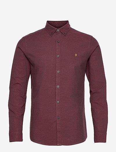 STEEN SLIM FIT SHIRT - koszule w kratkę - farah red