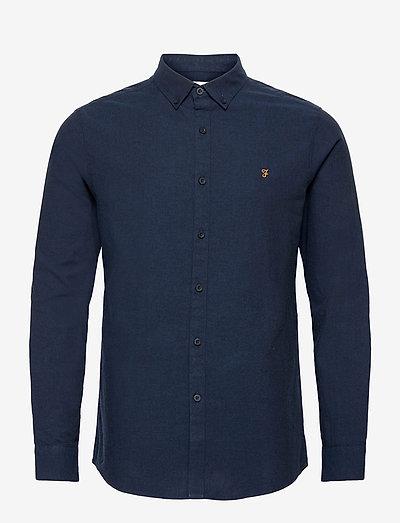 STEEN SLIM FIT SHIRT - linnen overhemden - true blue