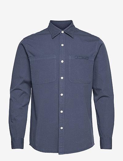 SHORE GARMENT DYE SHIRT - koszule w kratkę - yale