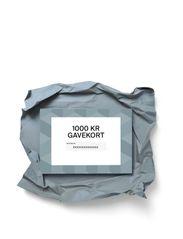 Gift card - DKK 1000