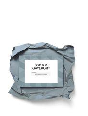 Gift card - DKK 250