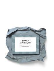 Gift card - DKK 500