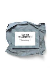 Gift card - SEK 500