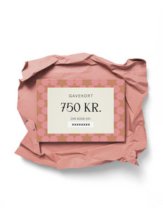 Gift card - andet - dkk 750