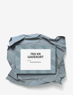 Gift card - gift cards - dkk 750