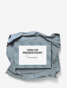 Gift card - Övrigt - sek 1000