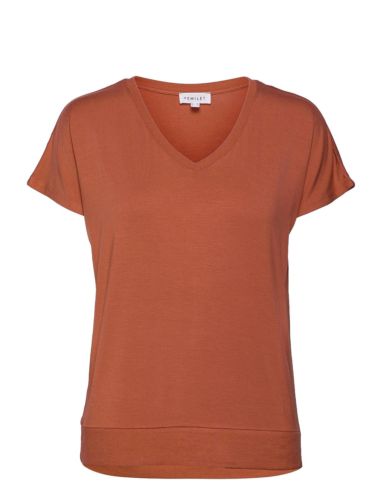 Lois T-Shirt T-shirt Top Lyserød Femilet