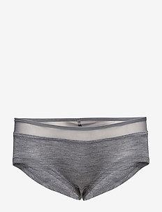 Juliana - Pants - hipster & hotpants - grey melange