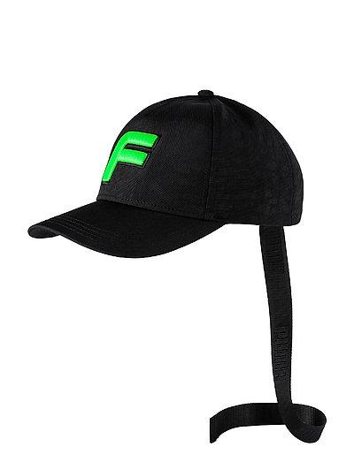 F Cap - PUMA BLACK-GREEN GECKO
