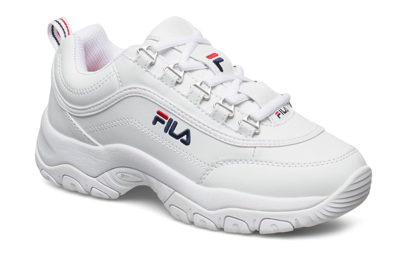 FILA Strada Low Wmn (White), (63