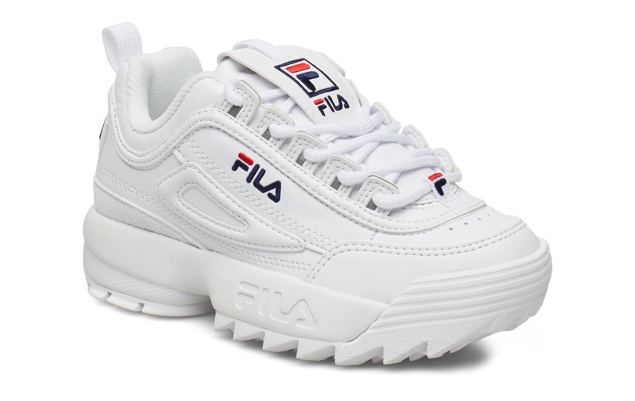 white fila shoes kids