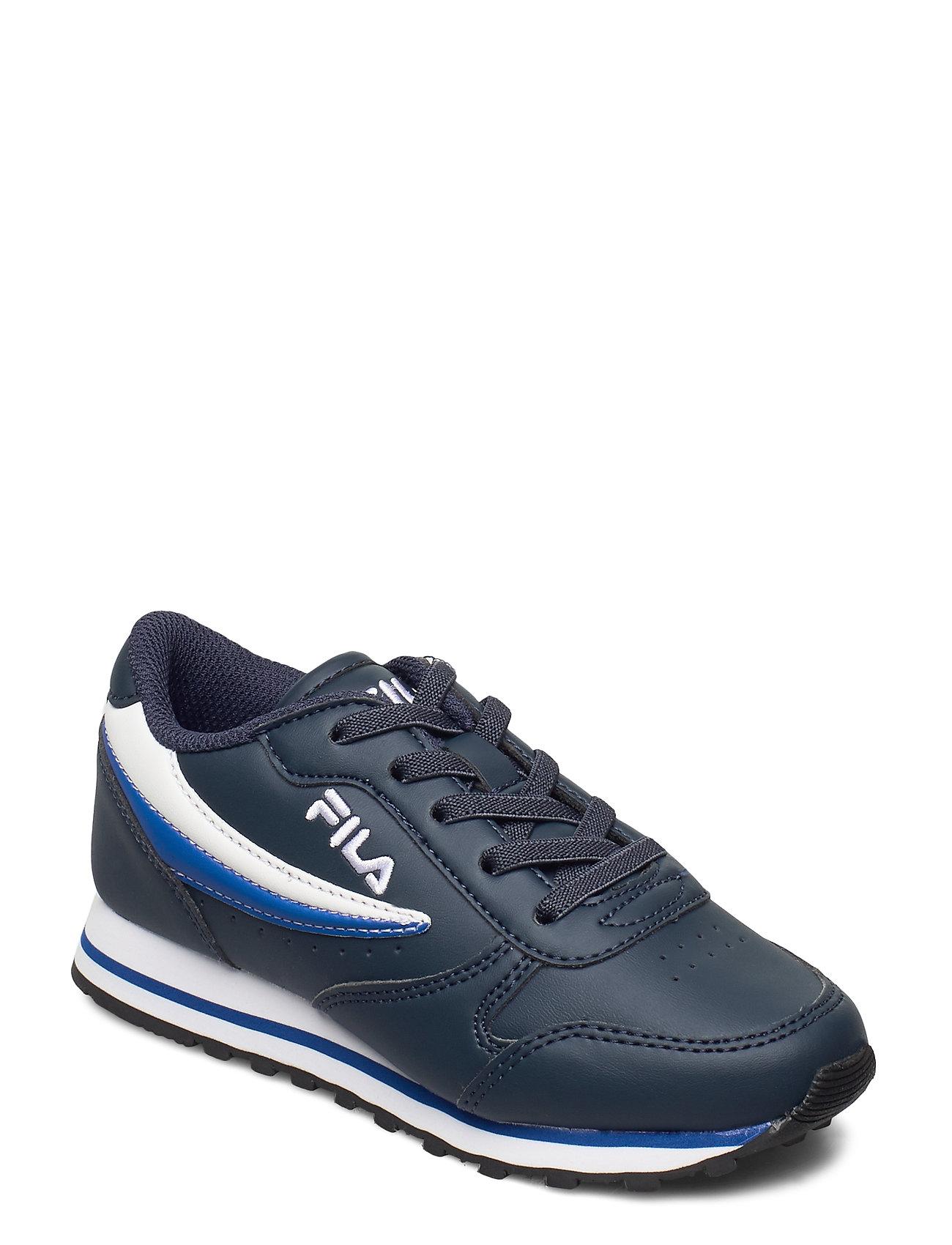 Image of Orbit Low Kids Sneakers Sko Blå FILA (3454944591)