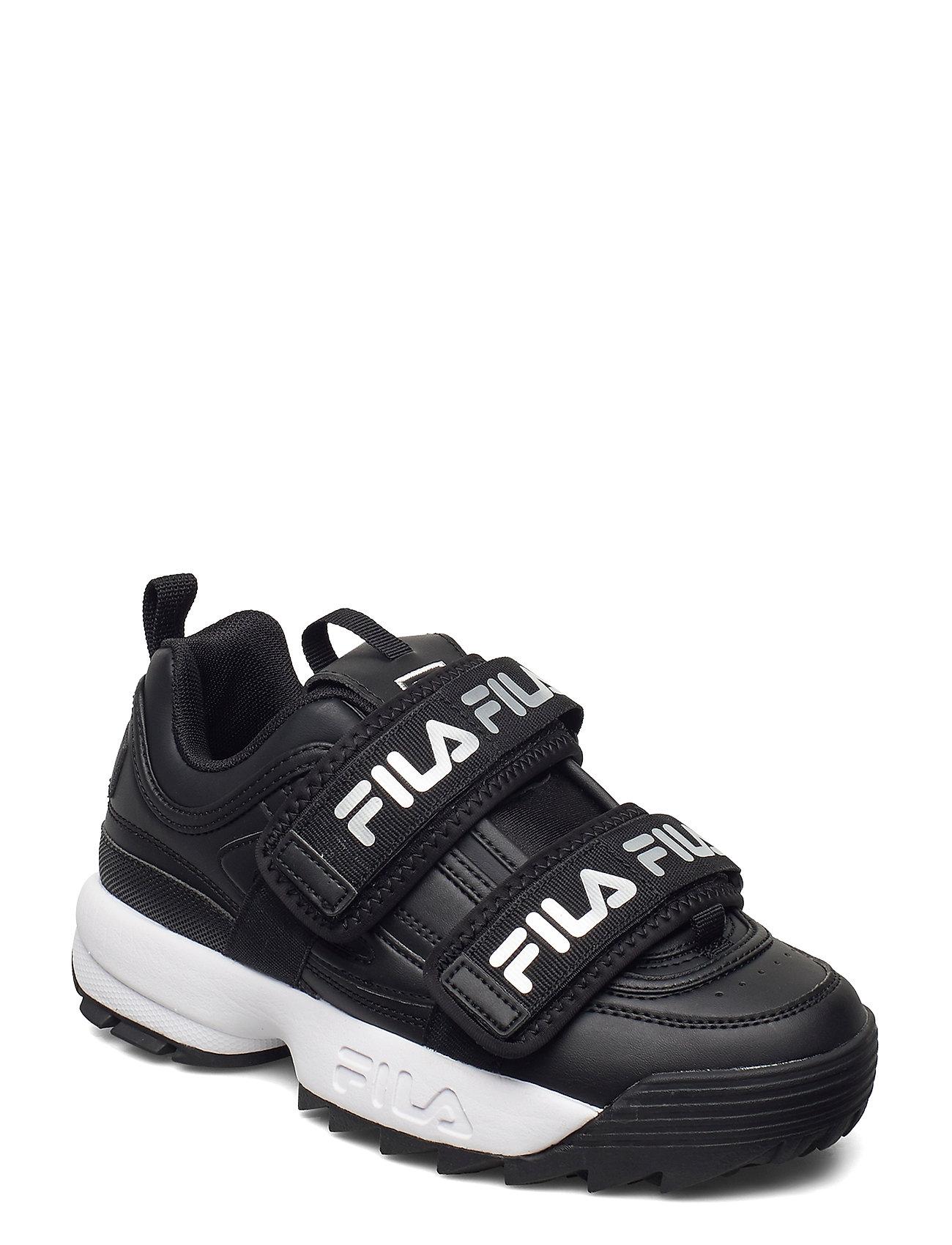 Image of Disruptor Straps Wmn Low-top Sneakers Sort FILA (3446808649)