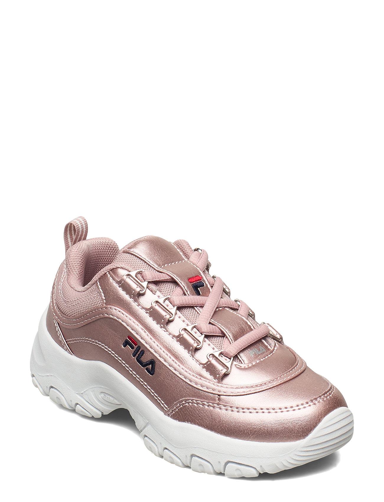 Image of Strada F Low Jr Sneakers Sko Lyserød FILA (3456635363)