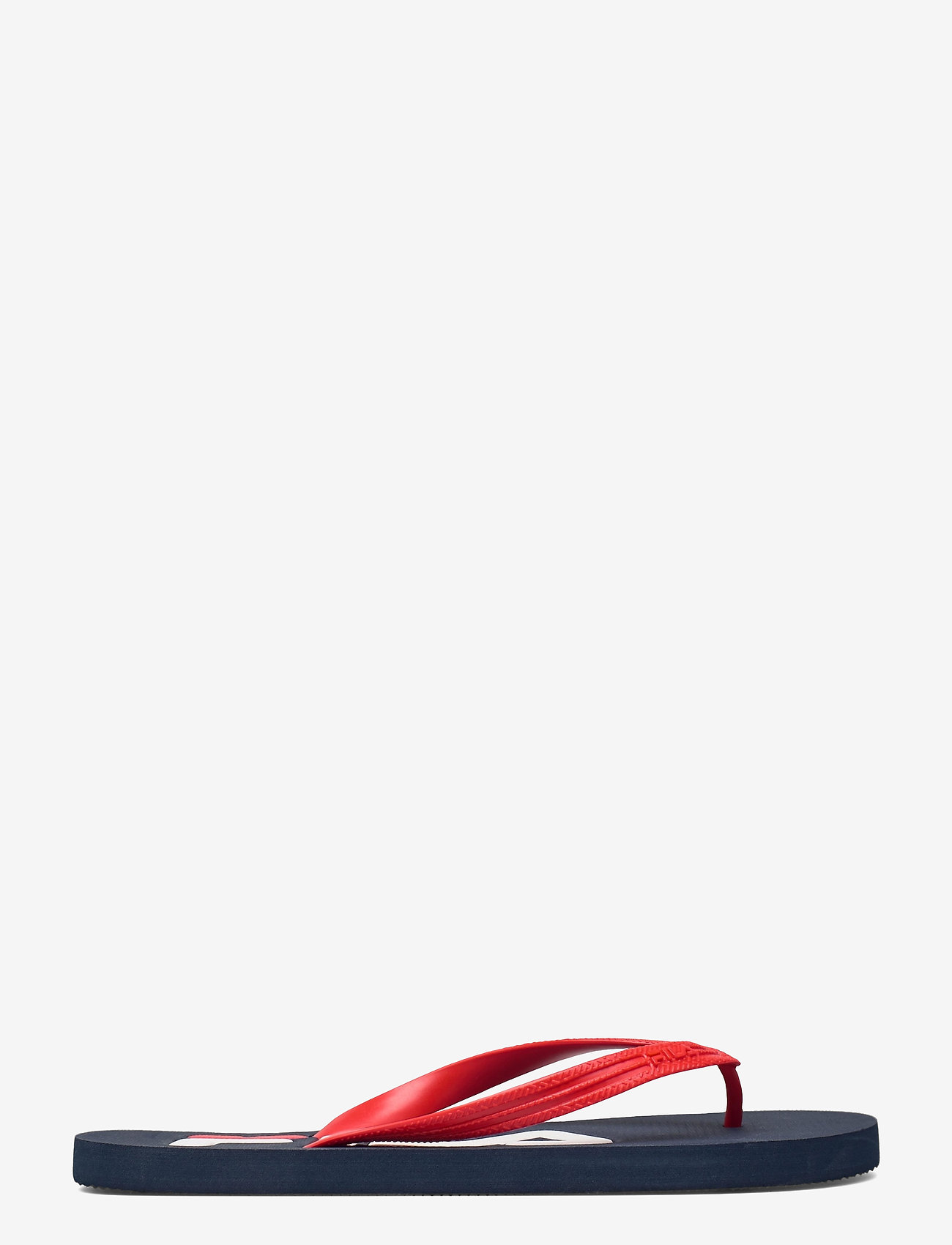FILA - Troy Slipper - urheilukengät - dress blues / high risk red - 1