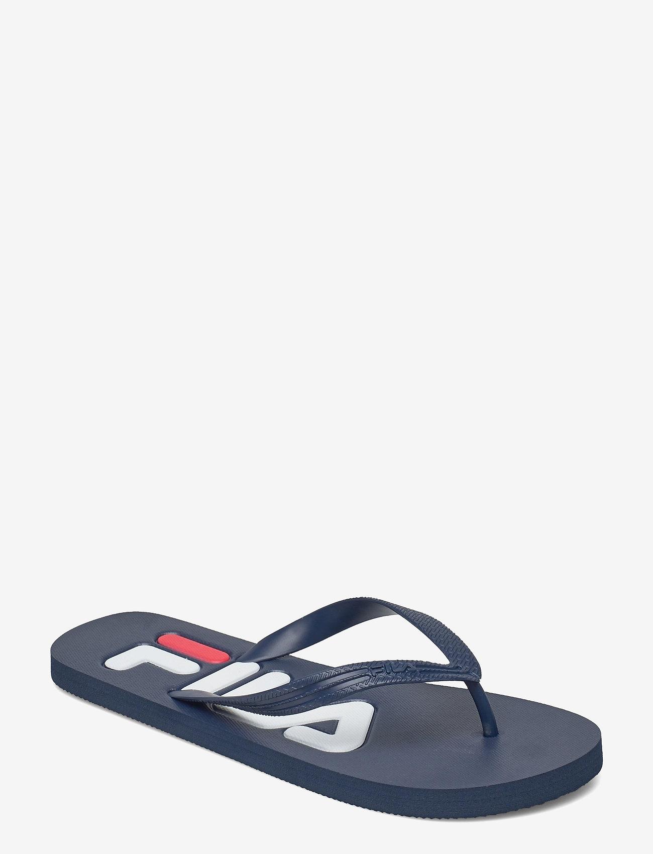 FILA - Troy Slipper - urheilukengät - dress blue - 0